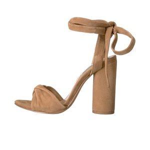 Steve Madden Women's Clary High Heel Tie Up Sandal